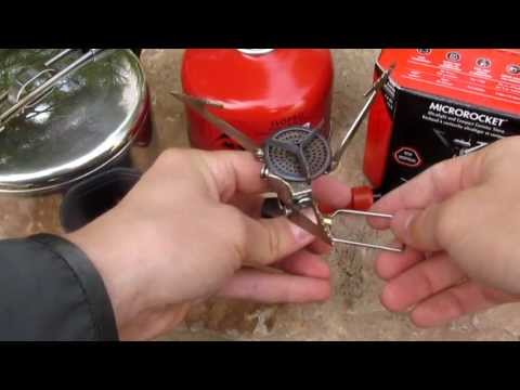 MSR MicroRocket Ultralight Stove Review - HD