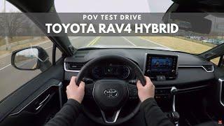 2019 Toyota RAV4 Hybrid POV Test Drive