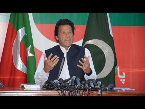 Imran Khan Address to Nation - Asks PM Nawaz Sharif for Resignation