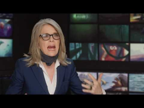 """Finding Dory: Diane Keaton """"Jenny"""" Behind the Scenes Interview"""