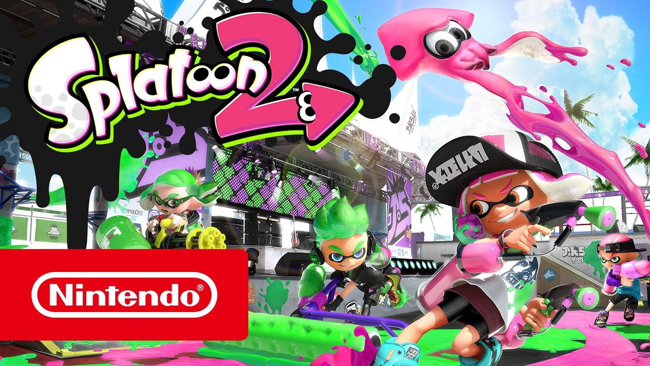 splatoon 2 switch au meilleur prix sur. Black Bedroom Furniture Sets. Home Design Ideas