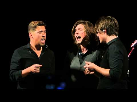 Hanson - Anthem World Tour - Singing Accapella no mics - Too Much Heaven - Pittsburgh PA