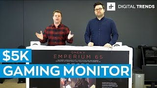 "Unboxing: HP Omen X Emperium 65"" 4K HDR Gaming Monitor"