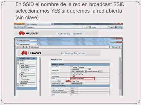 cambio contrasena modem huawei hg 520s.wmv