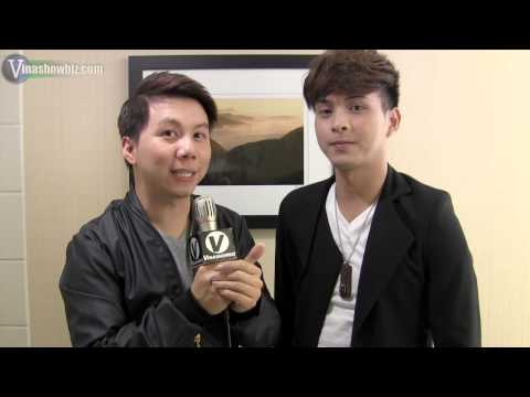 Singer Ho Quang Hieu On Vinashowbiz video