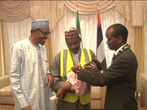 President Buhari On Polio Free Nigeria