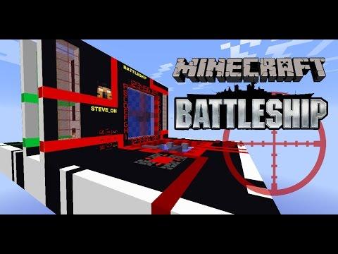 Battleship in Minecraft | Showcase