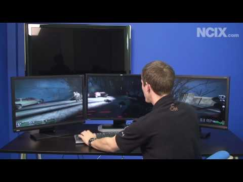 Radeon HD 5870 ATI & Eyefinity First Look (NCIX Tech Tips 51) Video