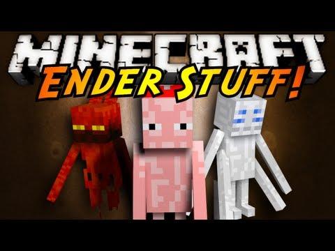 Minecraft Mod Showcase : ENDERSTUFF!