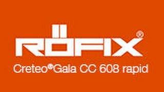 Video CRETEO®GALA CC 608 RAPID su RÖFIX TV