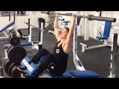 Jodi Boam 2014 Vlog Series Episode 3 • CHEST DAY