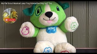 My Pal Scout Musical Leap Frog Interactive Dog Soft Toy