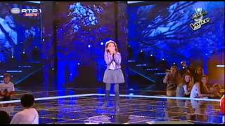 "Sara Monteiro - ""Unconditionally"" - Gala - The Voice Kids"