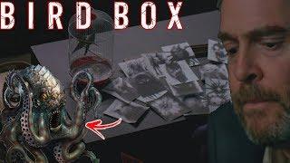 Bird Box - Desenhos de Gary e Cthulhu Explicado