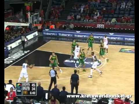 USA vs Lithuania 89-74 semi finals FIBA world championship 2010 Basketball Turkey Highlights