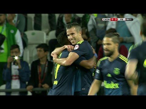 Torku Konyaspor:0 - Fenerbahçe:3 | Gol: Robin van Persie
