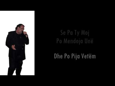 Eduard Jubani - Në Pijetore Unë Jam Ulur (live, With Lyrics) video