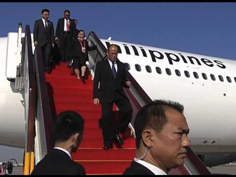 Arrival in Beijing, China 11/9/2014