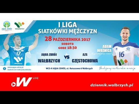 Na żywo. Aqua-Zdrój Wałbrzych Vs AZS Częstochowa - I Liga Siatkówki Mężczyzn