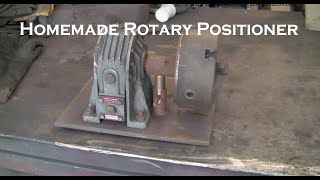 Homemade Rotary Positioner Part One