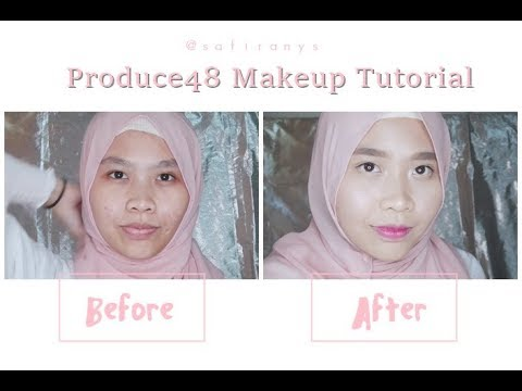 [TUTORIAL] 'Pick Me' Produce48 Makeup Inspired | YouTube