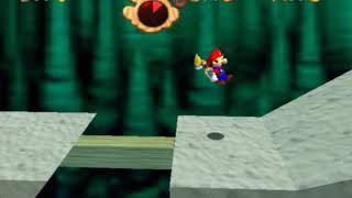 Super Mario 64 First bowser level with Fludd