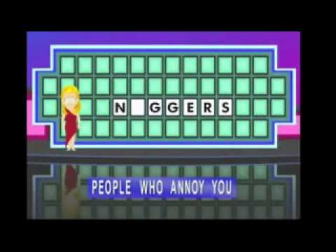 south park wheel of fortune:nagger