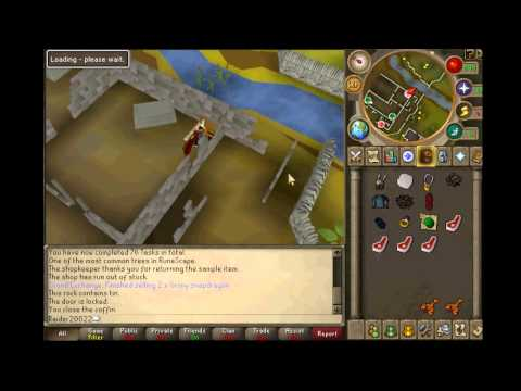 Runescape : 99 Attack Guide w/ Commentary
