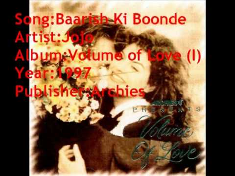 Jojo - Baarish Ki Boonde Masti Ka Mausam (Archies Volume of...