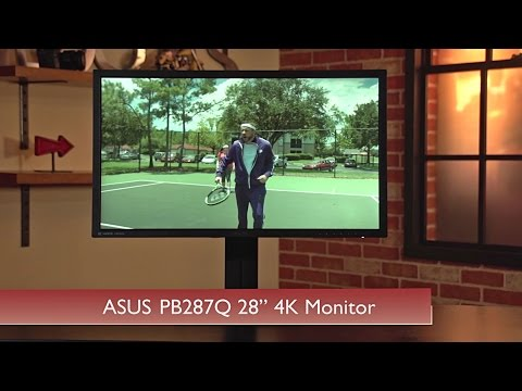 Hands-On Review: Asus PB287Q UHD 4K Monitor
