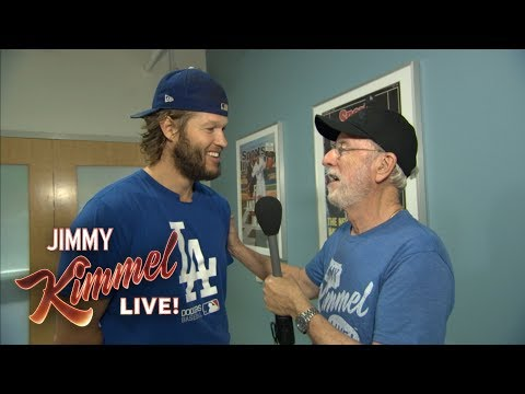 Jimmy Kimmel's Dad at World Series Media Day