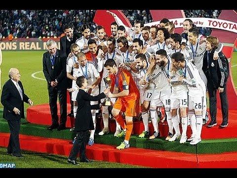 Real Madrid champion FIFA Club World Cup Morocco 2014
