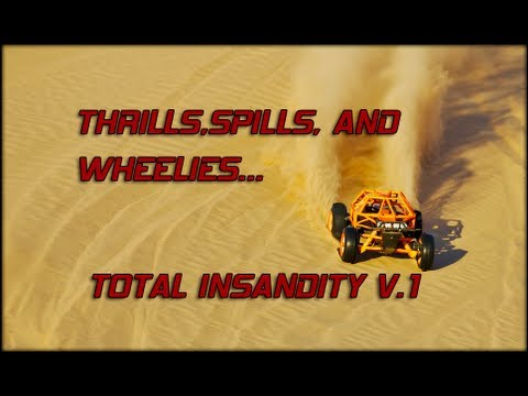 "HPI BAJA'S 1/5 SCALE R/C THRILLS, SPILLS, AND WHEELIES. VOLUME 1 - ""TOTAL INSANDITY"""