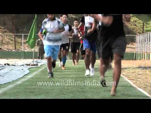 Test run for Indian Army aspirants, Aizawl
