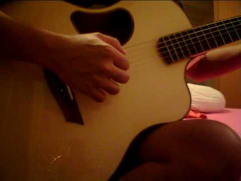 Mcpherson Guitars 3.5xp with some fingerpicking and light strumming