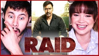 RAID | Ajay Devgn | Ileana D'Cruz | Trailer Reaction by Jaby & Achara!