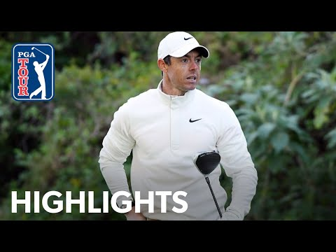 Rory McIlroy shoots 3-under 68 | Round 1 | Genesis 2020