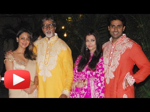 Plump Aishwarya Rai Vs Sexy Gauri Khan - Bachchan's Diwali Bash 2013