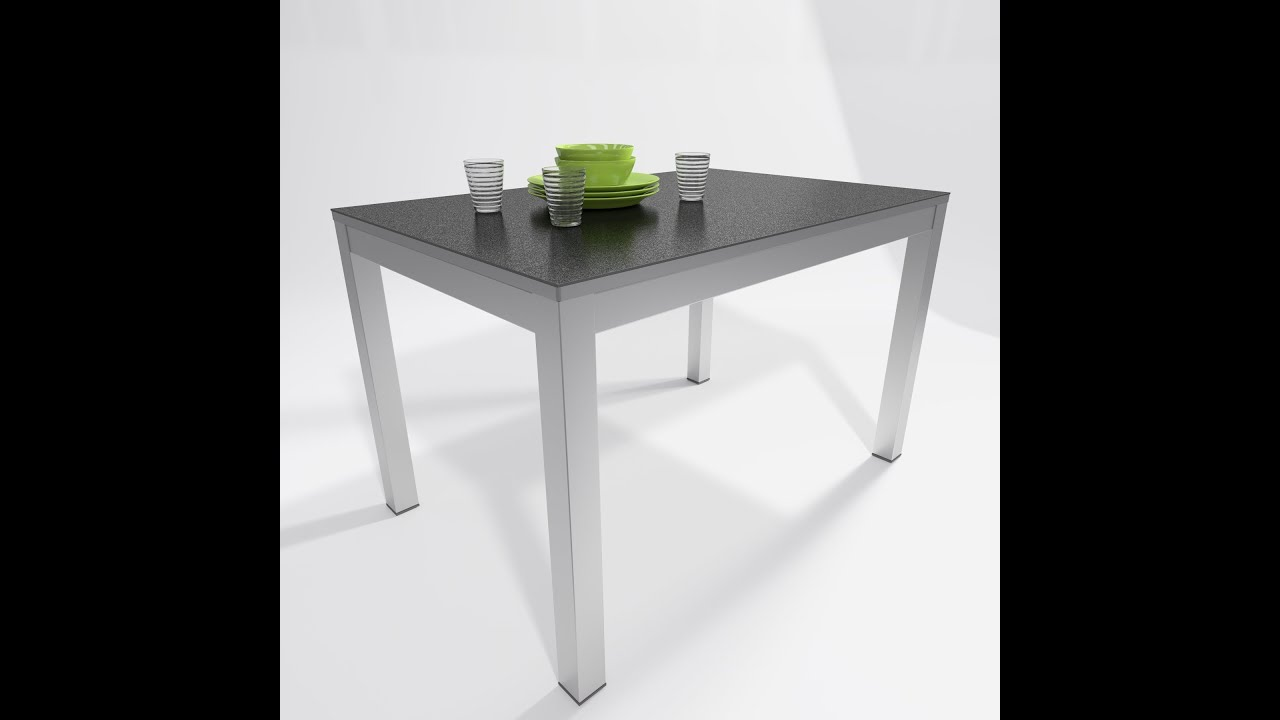 Mesas de cocina milenium techlam youtube - Mesa y sillas para cocina ...