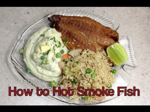 How to Hot Smoke Fish Video Recipe cheekyricho