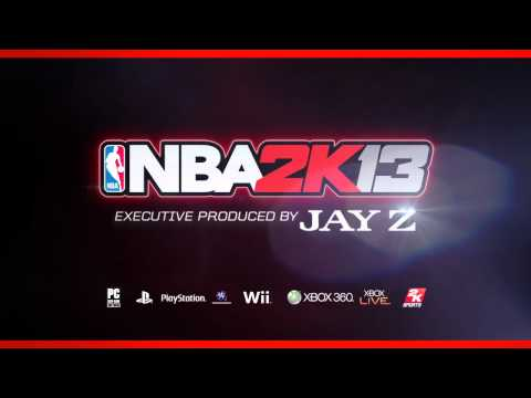 NBA 2K13 Executive Produced by JAY Z
