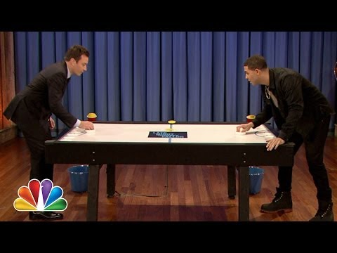 Beer Hockey with Drake (Late Night with Jimmy Fallon)