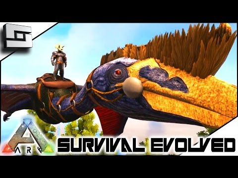 ARK: Survival Evolved - SUPER QUETZAL SOLO TAME! S4E23 ( The Center Map Gameplay )