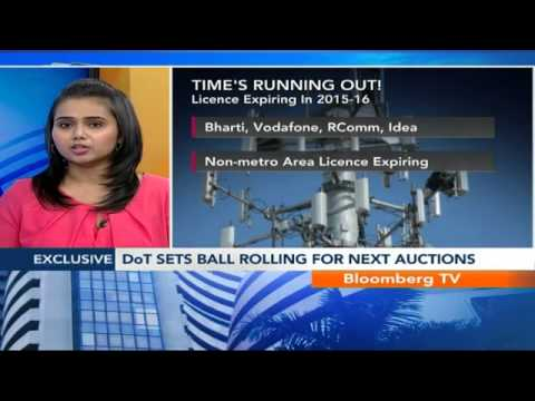 Market Pulse- DoT Seeks TRAI View On Reserve Price
