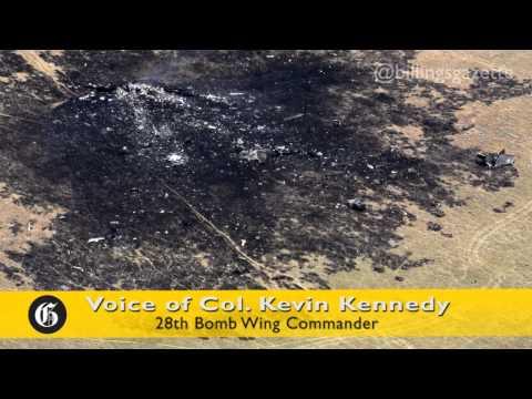 アメリカモンタナ州で、B-1B墜落 クルーは無事脱出