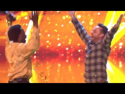 "ALL 3 GOLDEN BUZZERS: #3 ""WIGGLE & VINE"" #2 FATHER & SON ""LUCKY LOVE"" #1 EMOTIONAL ""MAGIC"" BGT 2018!"