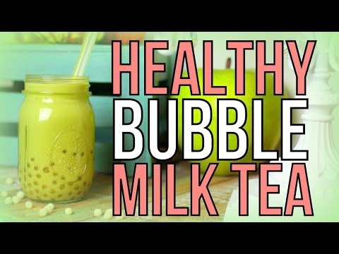 Healthy Bubble Milk Tea Boba! | Cheap Clean Eats