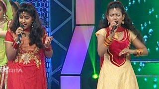 Sreelekshmi & Anjana Singing Dola Re Dola from the movie Devdas in Super Star Junior- 5