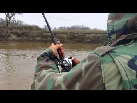 Sturgeon fishing Knights Landing 3/2/14