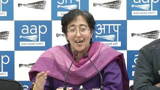 AAP Leader Atishi Briefs of SC Judgement on Delhi Vs Center